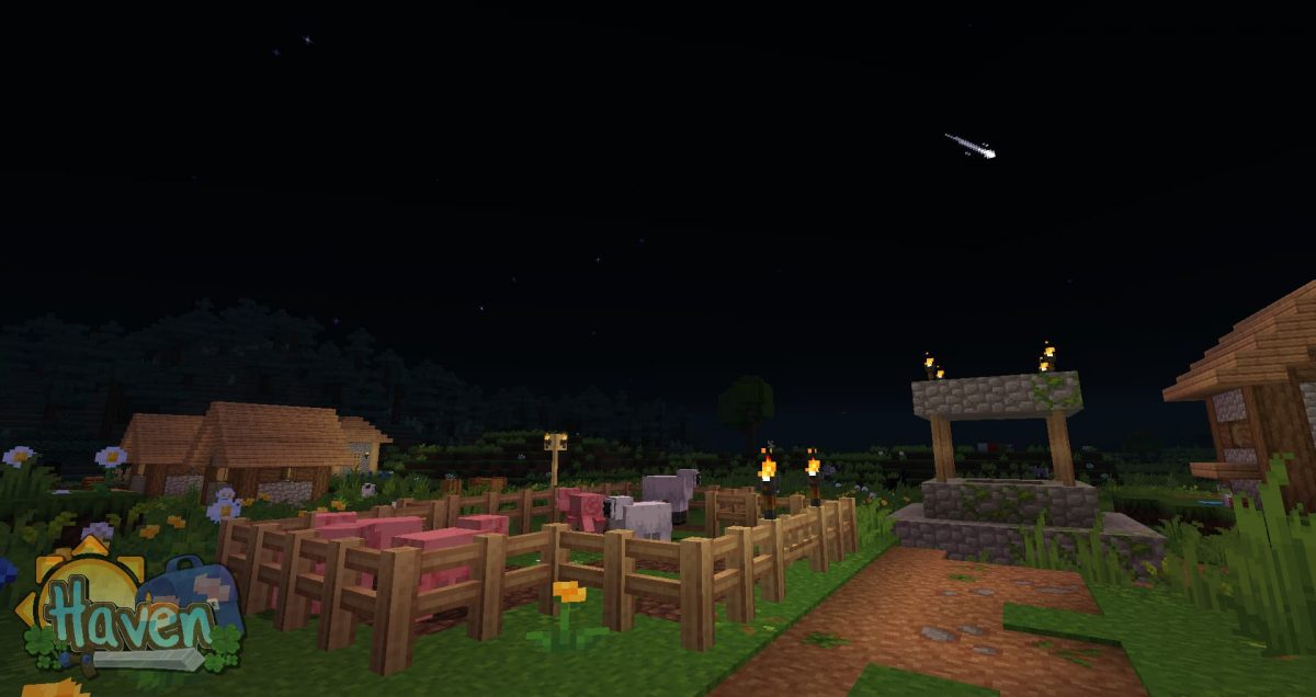 Haven texture pack : étoiles filantes
