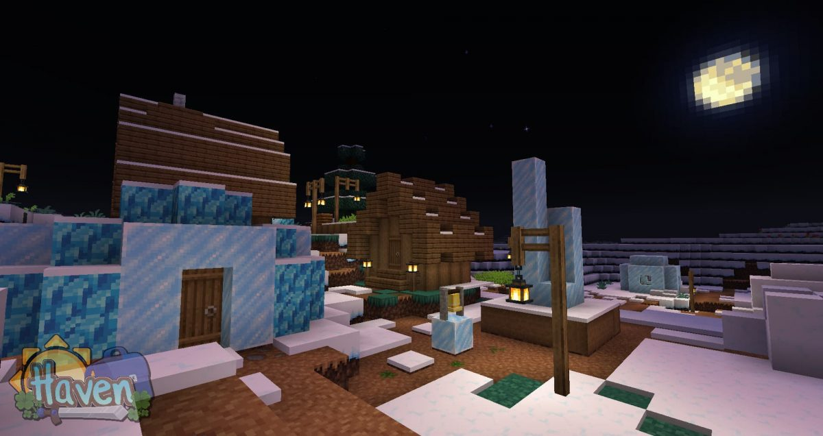 Haven texture pack : biome glace et neige