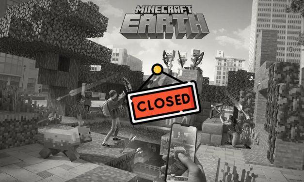 Minecraft Earth ferme ses portes en juin 2021