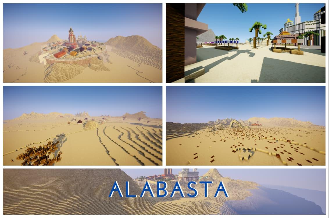 Alabasta 2 map minecraft one piece