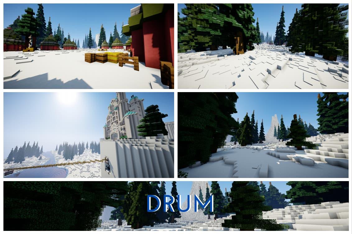 Drum map minecraft one piece
