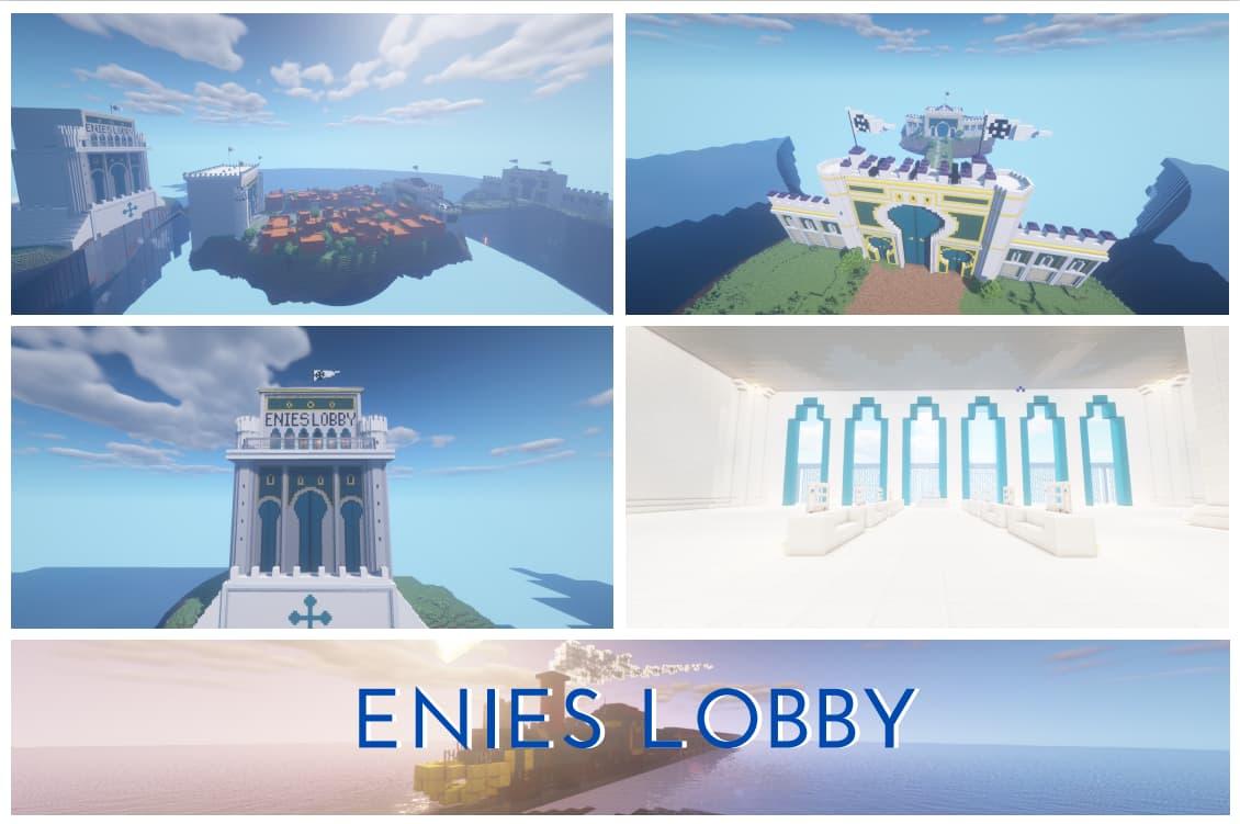 Elies Lobby map minecraft one piece