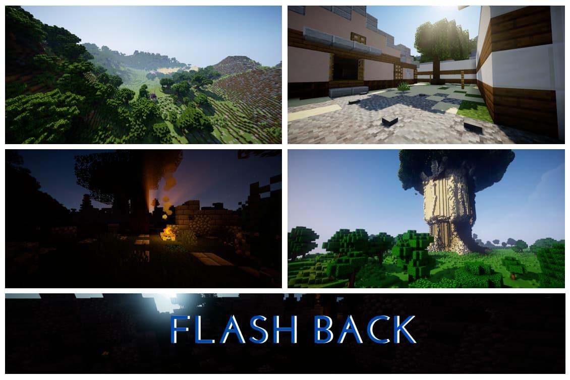 Flash Back map minecraft one piece