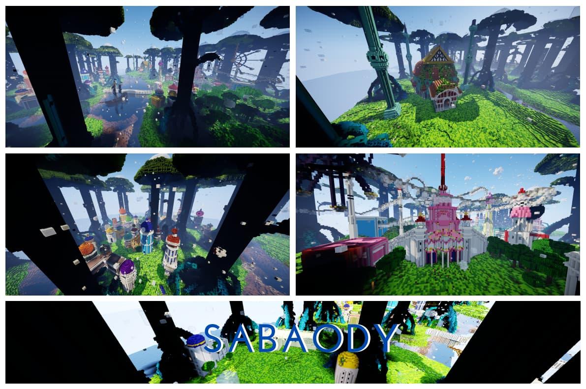 Sabaody map minecraft one piece