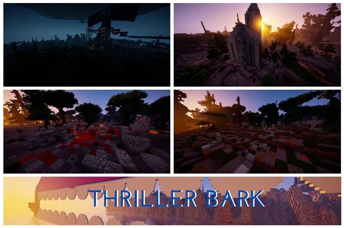Thriller Bark map minecraft one piece