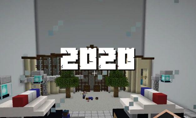 Rétrospective des moments forts de l'année 2020 dans Minecraft