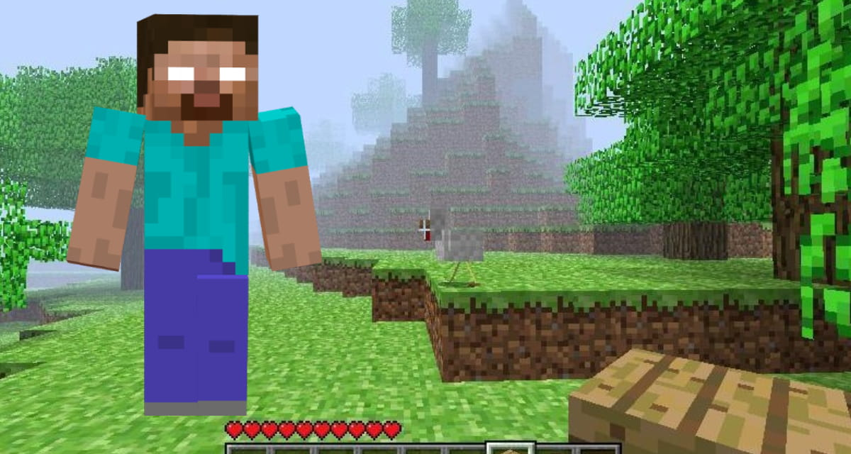 Le seed pour Minecraft à l'origine d'Herobrine a été découvert !