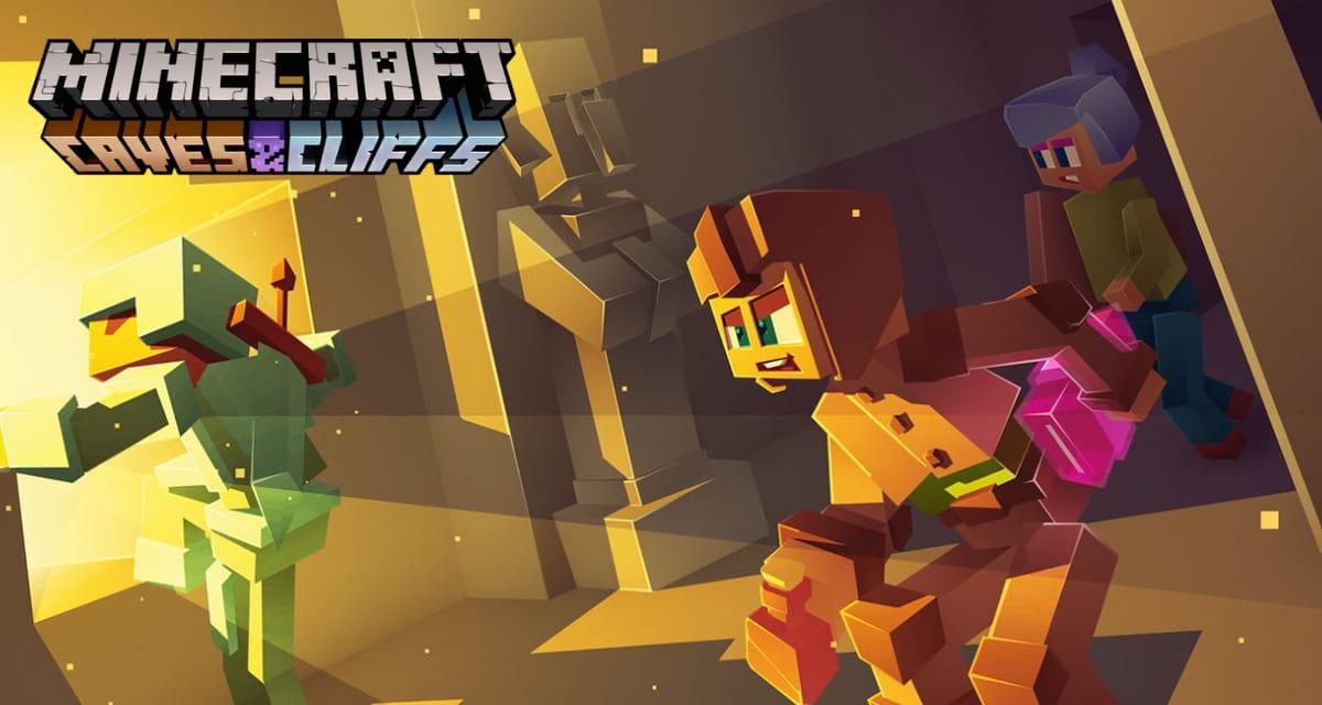 Un développeur de Minecraft nous tease de nouveaux sons terrifiants pour Minecraft 1.17
