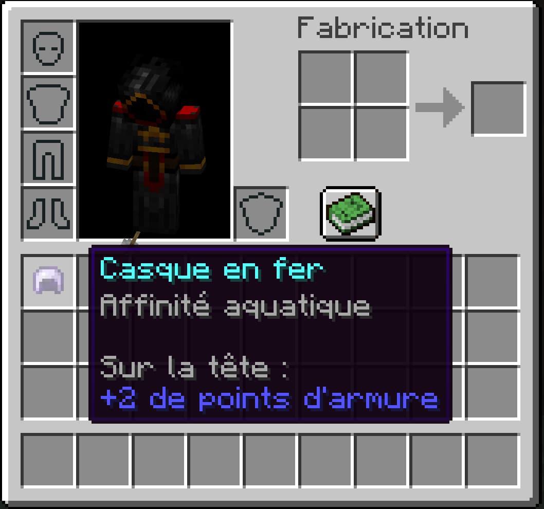 Affinité aquatique (Aqua Affinity) – Enchantement Minecraft