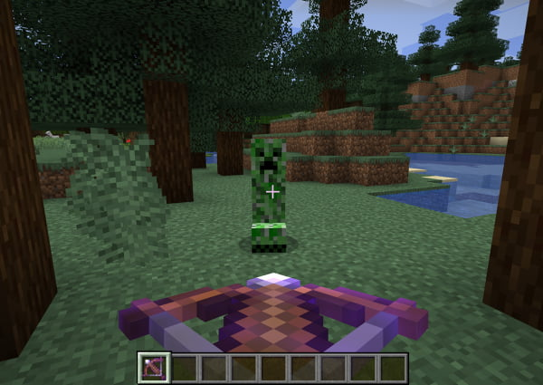 charge rapide quick charge enchantement minecraft