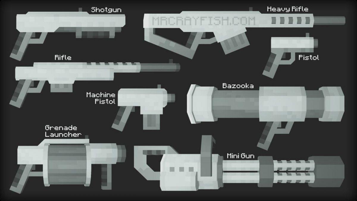 gun minecraft
