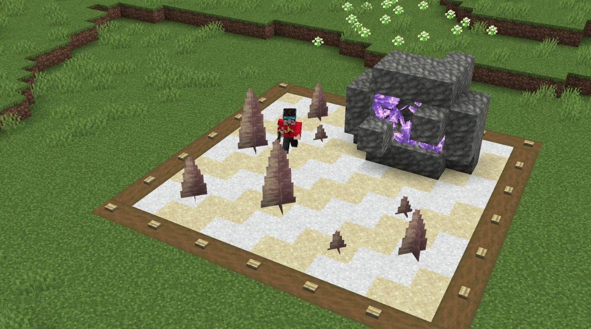 Minecraft 1.17 décoration : jardin japonais