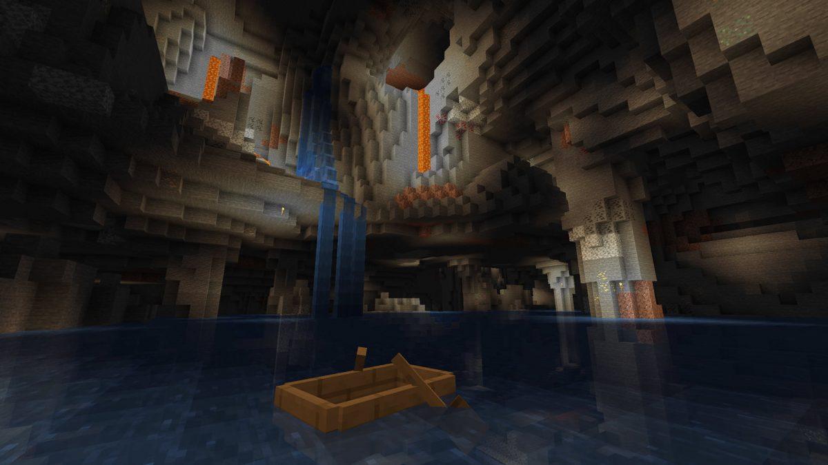 Une nouvelle grotte dans Minecraft 1.17