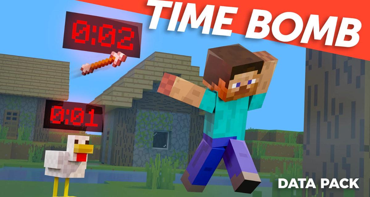 Tout est une bombe à retardement avec ce Datapack pour Minecraft !