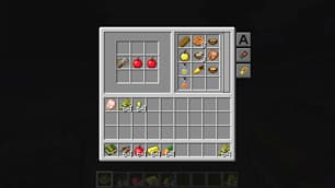 interface repas plan travail cooking for blockheads