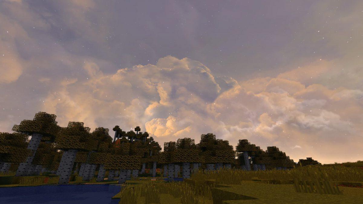 Dramatic Skys coucher de soleil