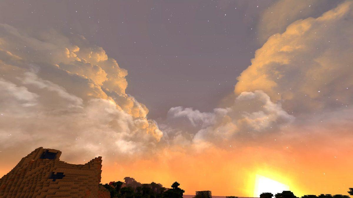 Dramatic Skys coucher de soleil 3
