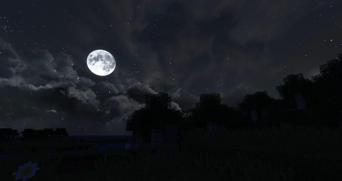 Dramatic Skys nuit lune 2