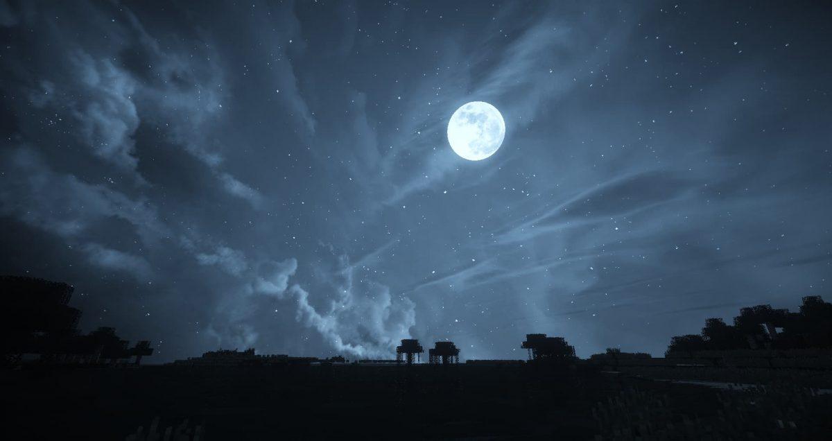 Dramatic Skys nuit shader