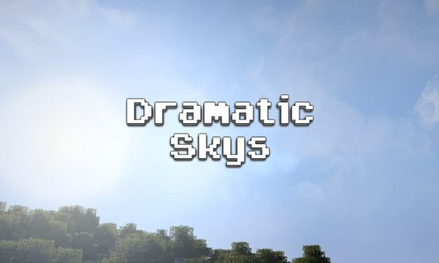 Dramatic Skys – Pack de Texture – 1.8 → 1.16