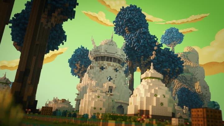 Map Fallen Kingdoms 10 : namek