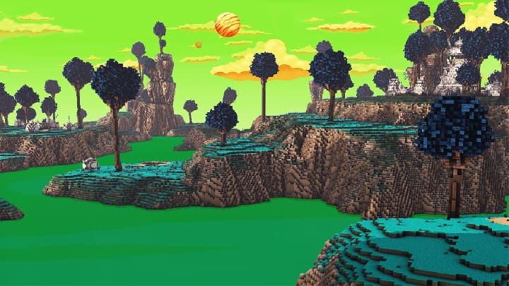 Map Fallen Kingdoms 10 : paysage