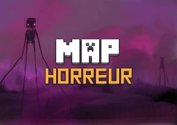 map horreur minecraft