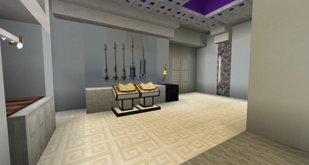 Une salle qui contient des informations