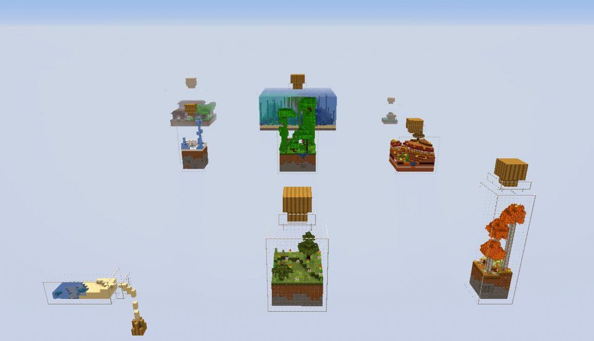 world in a jar map minecraft jarres