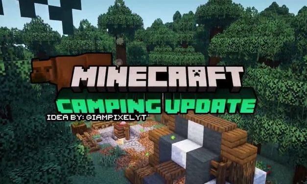 Une mise à jour «Camping» pour Minecraft ?