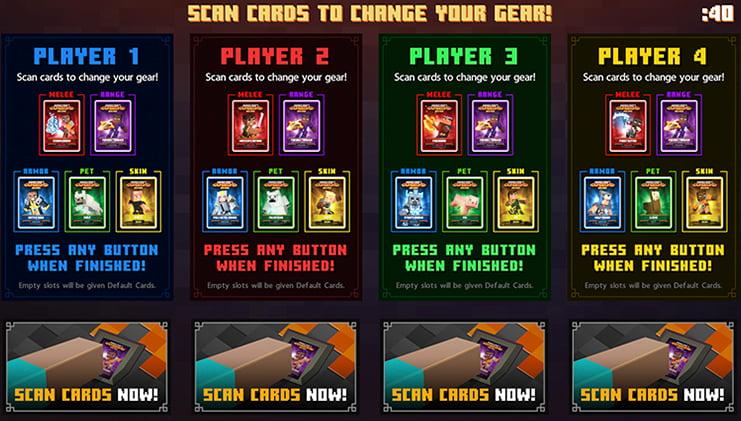 cartes minecraft dungeons arcade