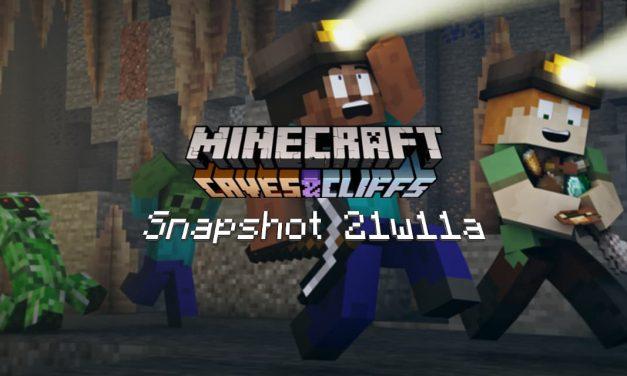 Snapshot 21w11a – Minecraft 1.17 : nouvelle utilité pour le cuivre