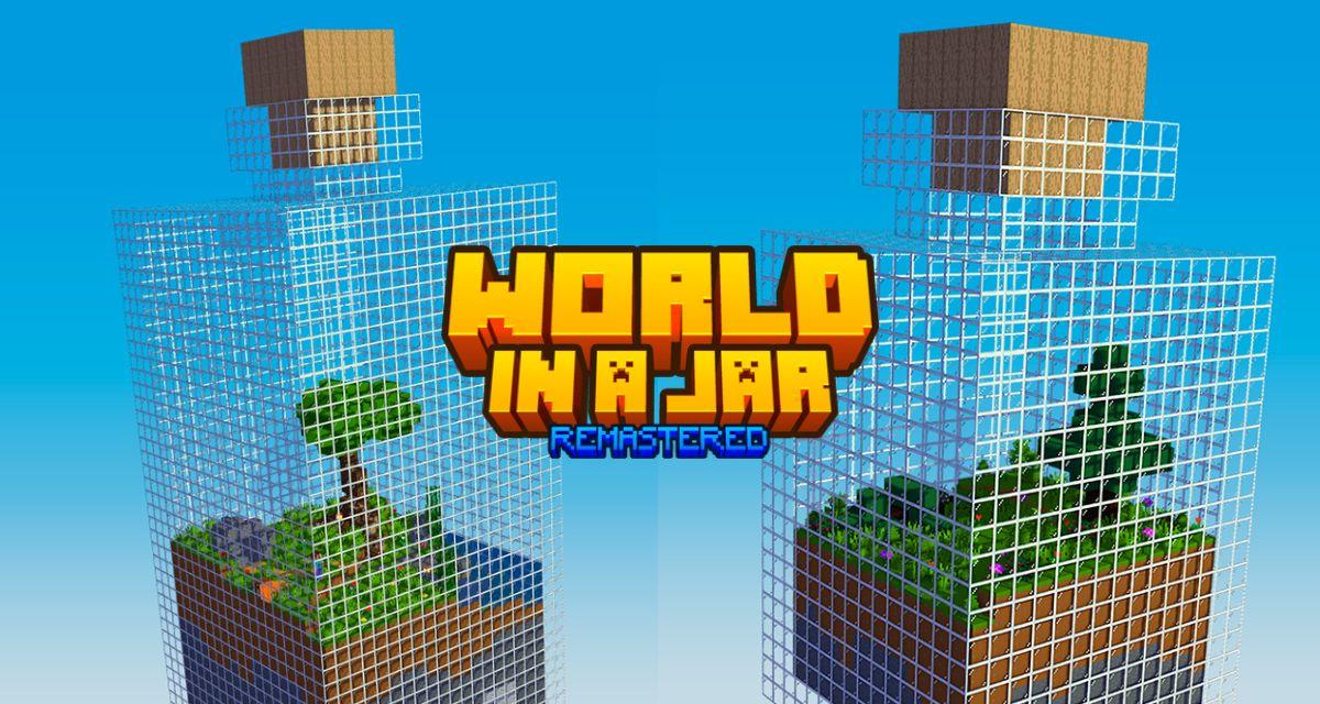 World In a Jar: REMASTERED – Map Minecraft – 1.16.5