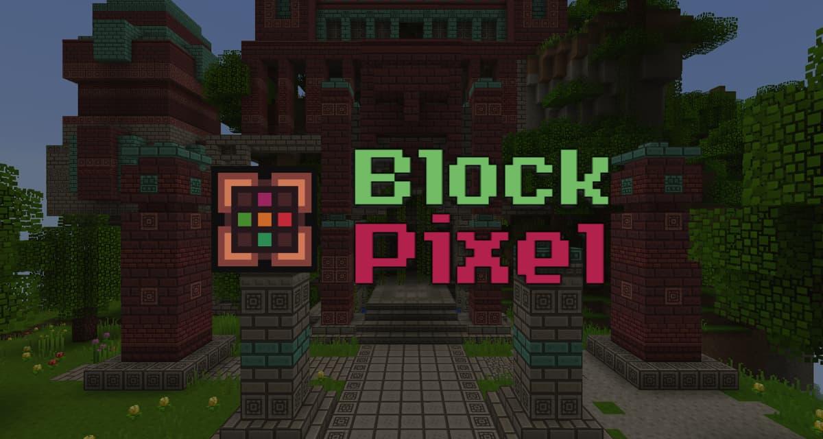 Block Pixel – Pack de Textures – 1.12 → 1.16