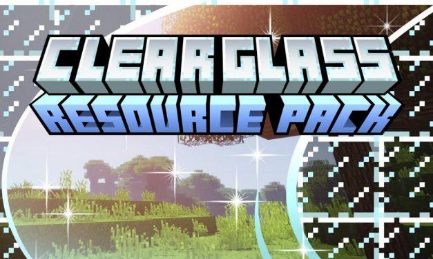 Clear Glass – Pack de Textures – 1.13 → 1.17