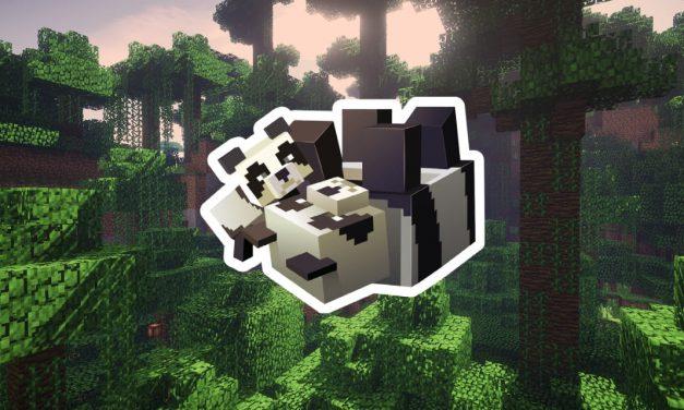 Comment adopter un panda dans Minecraft ?