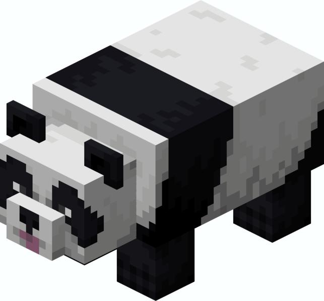Panda joueur