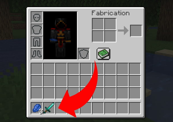 comment faire épée enchantée minecraft choisir lapis lazulli