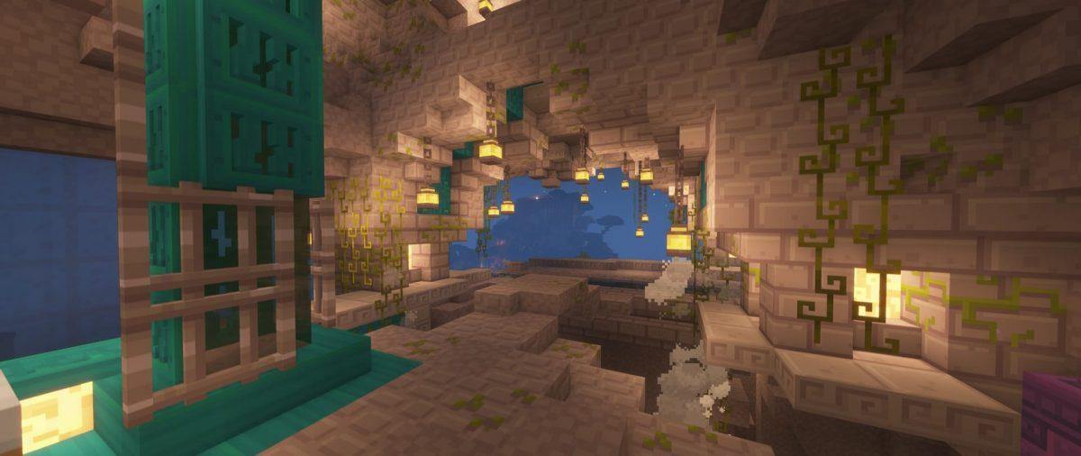 Grotte avec le pack Dandelion X