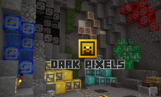 Dark Pixels – Pack de Texture PvP – 1.6.4 / 1.7.10 / 1.8.9