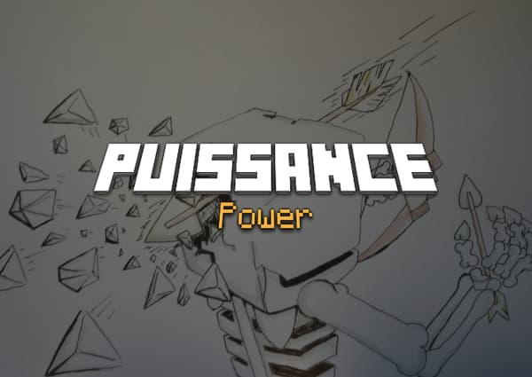 Puissance / Power – Enchantement Minecraft