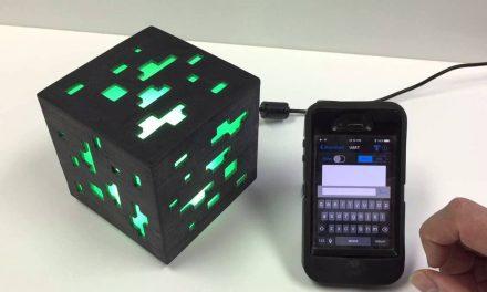 Réaliser une lumière d'ambiance Minecraft