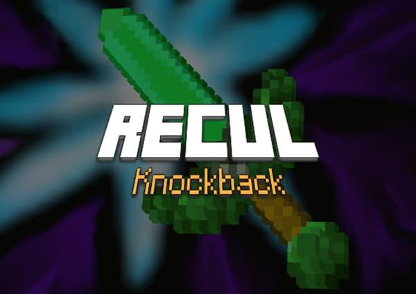 Recul / Knockback – Enchantement Minecraft