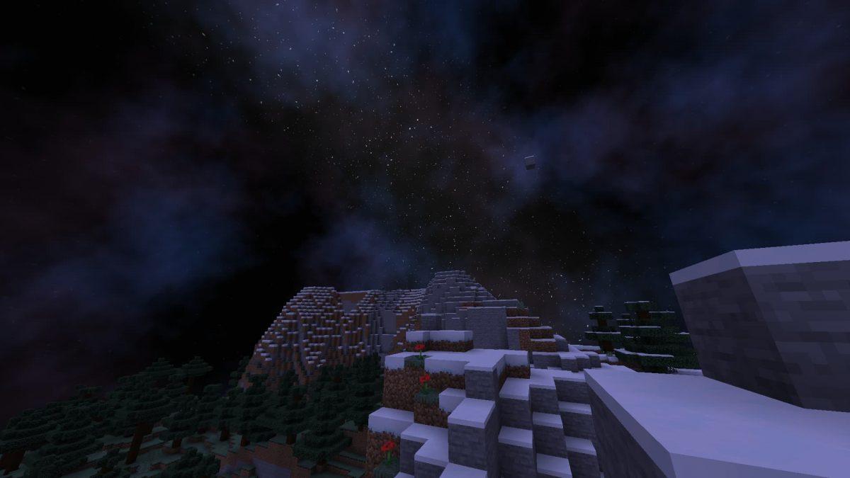 shader minecraft ciel personnalisé