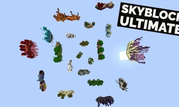 Skyblock Ultimate – Map Minecraft – 1.16.5