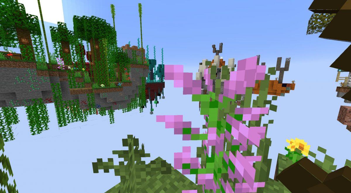 map minecraft skyblock ultimate ile verte