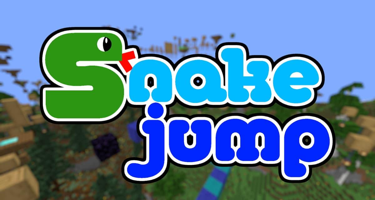 Snake Jump – Map Minecraft Parkour – 1.16.4