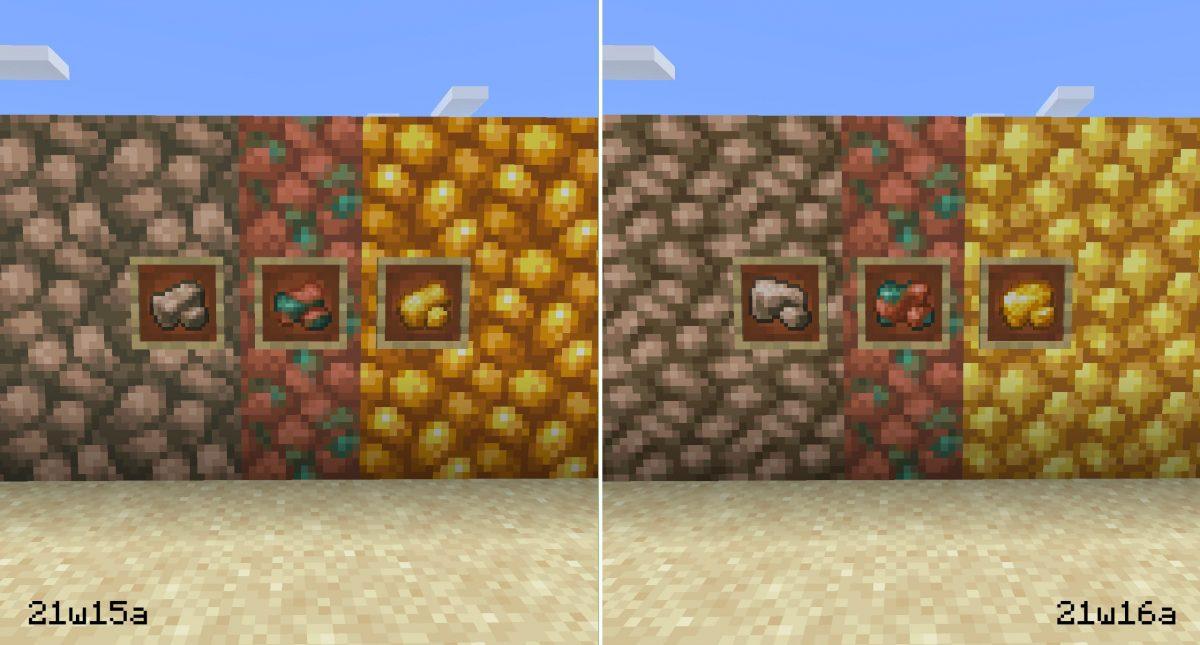 différence minerai brut