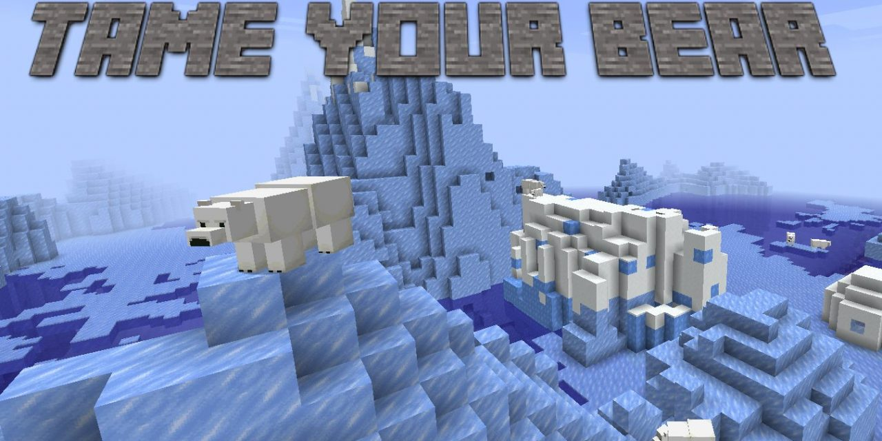 Tame your bear – Datapack Minecraft
