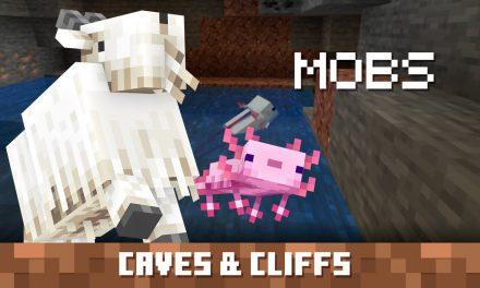 Les créatures de la partie 1 de Minecraft 1.17 – Caves & Cliffs Update